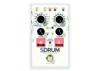 DigiTech SDRUM Strummable Drums - FREE 2 DAY SHIP