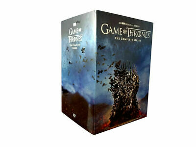 Game of Thrones: The Complete Seasons 1-8 (DVD, 38 Disc Box Set) NEW & SEALED!