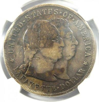 1900 Lafayette Silver Dollar $1 - NGC VG Details - Rare Certified Coin!