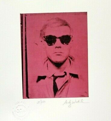 Andy Warhol + Hand Signed + Numbered + Original 1986 Print + With  Coa