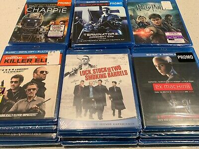 Blu-Ray Movie Lot Collections - SEALED / UNOPENED w/ DIGITAL CODES