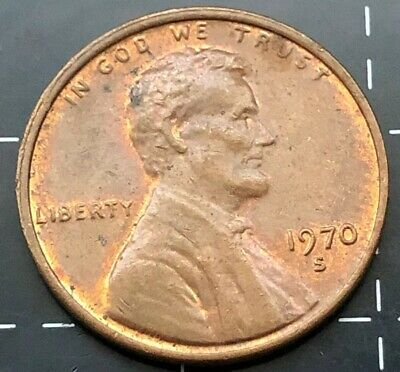 1970 United States Of America U.s.a Us One Cent Coin - Liberty - In God We Trust