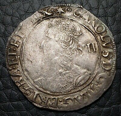 Silver 1640-41 Great Britain Shilling | Charles I | VF Condition | S-2799