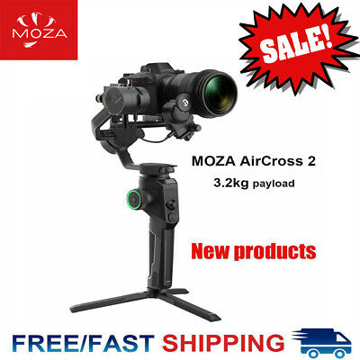 MOZA AirCross 2 Stabilizer 3-Axis Handheld Gimbal 8 Follow Modes Up to 7.1Lbs