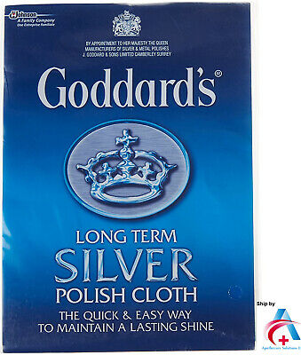 Goddard's Long Term Silver Polish Cloth Jwellery Cleaning Cloth