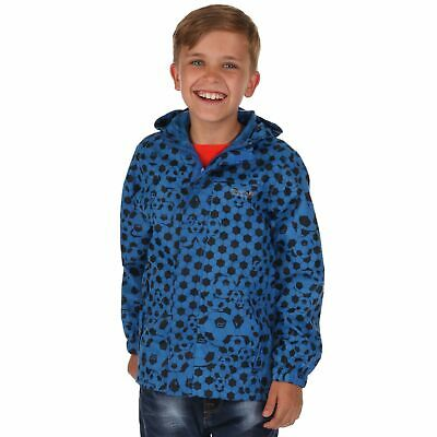 Regatta Printed Pack It Kids Boys Packaway Waterproof Breathable Jacket RRP £25
