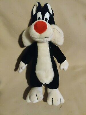 Sylvester Warner Brothers Plush 15 inches 1993. Preowned.