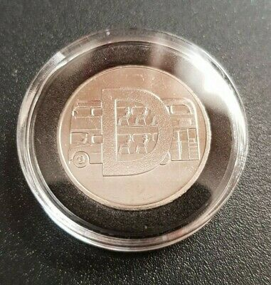 30 mm ACRYLIC COIN CAPSULES WITH BLACK INSERT FOR 10 p coins(1,5,10,26 pcs)
