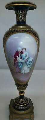 1776 18th Century Sevres tall Vase Urn signed