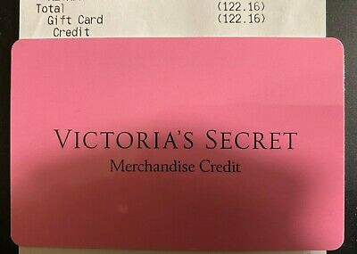 $122.16***Victoria's Secret Store or Online Merchandise Credit Gift Card