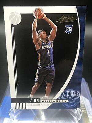 ZION WILLIAMSON 2019 2020 Panini Absolute RC Rookie Card Pelicans
