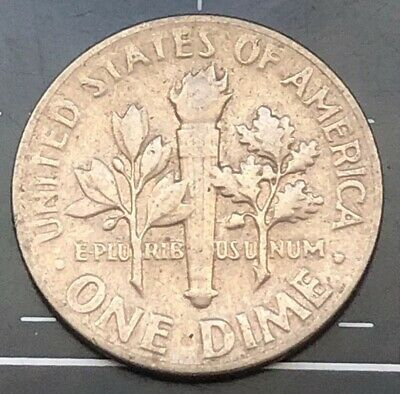 1966 United States Of America U.s.a - Us One Dime Coin - Liberty
