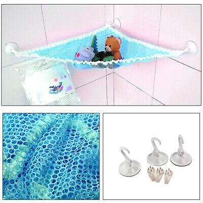 Kids Bath Toys Organizer Storage Strong Hooks Suction Cup