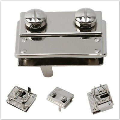 Square Shape Clasp Turn Twist Metal Lock Buckle Colorful Hardware Accessories SW