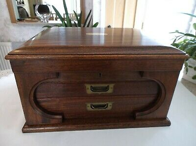 Vintage Wooden Cutlery Box/Canteen