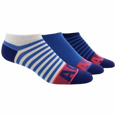 ADIDAS Women's Superlite No Show 3-Pack Socks Adult One Size (5-10) Blue Pink