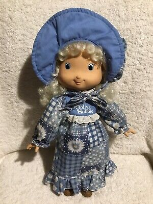Vintage 1990's Holly Hobbie Doll By Knickerbocker Toys 37cm Tall Excellent Cond.