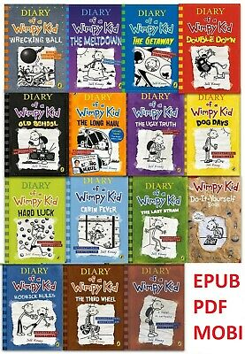 Diary Of A Wimpy Kid All Books All Serie by Jeff Kinney -  (P D F / E P U B)