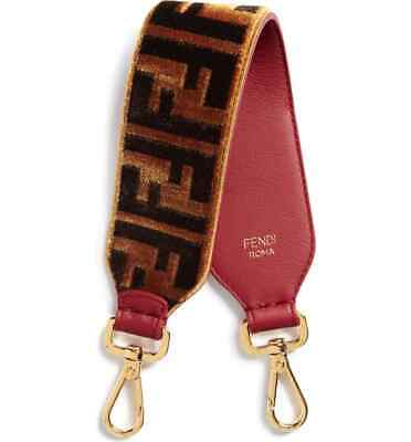 FENDI Mini Strap You Fendi Logo Top Handle Strap