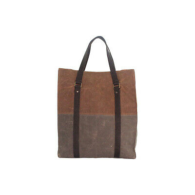 CB Station Waxed Canvas Voyager Tote - Khaki &