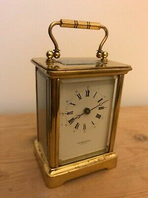 Antique rare  Taylor and Bligh English skeleton carriage clock working