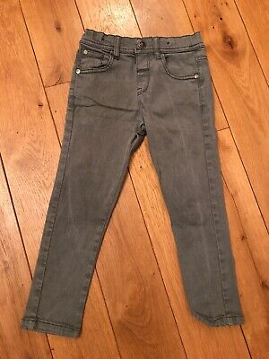 Boys Grey Skinny Jeans From M&S Age 4-5yrs