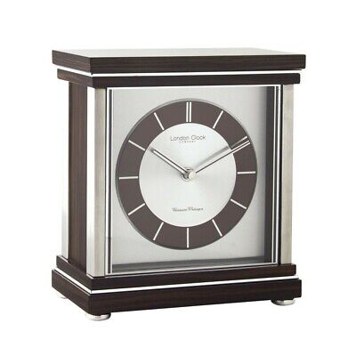 London clock Co wooden table clock with Westminster and volume control 06411