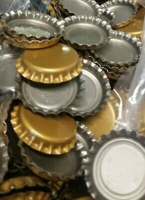 1000 New Blank Unused Uncrimped Crown Bottle Caps.  Free Shipping