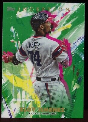 2020 Topps Inception Green Choose From List