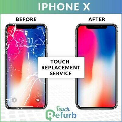 Apple iPhone XS Original LCD Front Glass Repair Service - Touch replacements