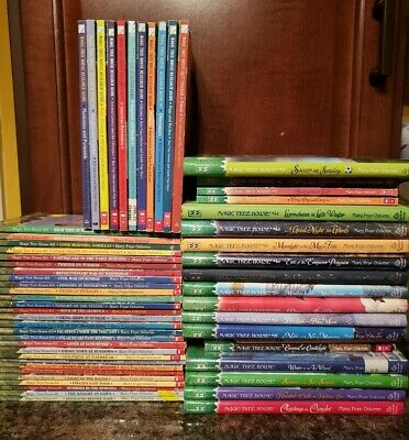 Magic Tree House 59 Book Lot 1-43 Merlin Missions Research Guide Home School