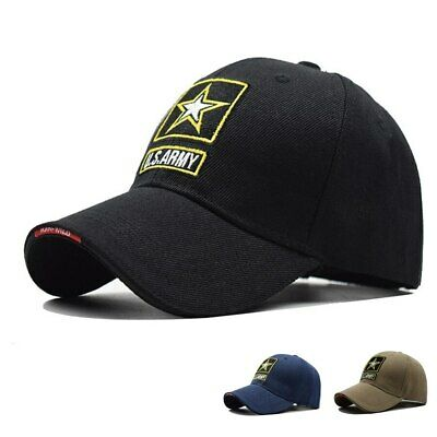 U.S ARMY Letter Embroidery Baseball Hat Men Women Snapback Tactical Cap Dad Hats
