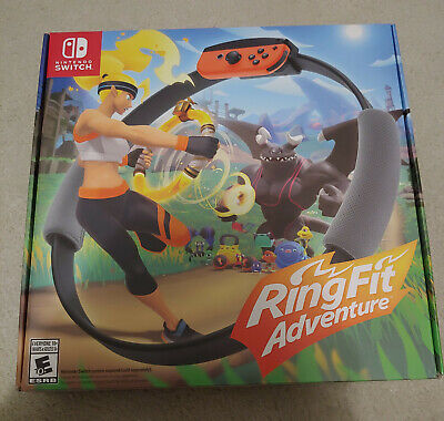 Ring Fit Adventure (Nintendo Switch, 2019) Brand New