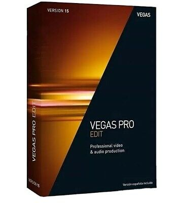 MAGIX Vegas PRO 15 Edit Windows