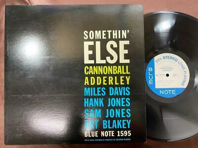 Cannonball Adderley Somethin' Else Blue Note Gxf 3001 Stereo Japan Vinyl Lp