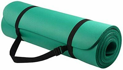 All-Purpose 1/2-Inch Extra Thick High Density AntiMat with Carrying Strap Yoga