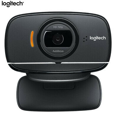 Logitech B525 WebCam Autofocus HD 360° Swive Cam Video Calling Skype Microphone