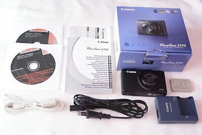 BOXED Canon PowerShot S110 12.1MP WiFi Touchscreen f/2 - Excellent