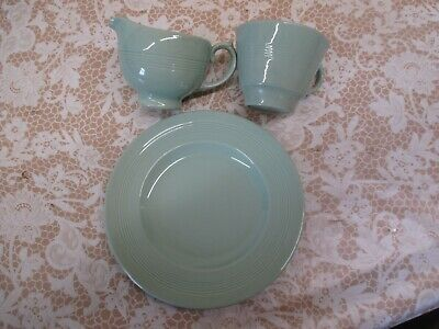 Selection Of Retro Green Woods Beryl Ware For Replacements And Or Tearooms