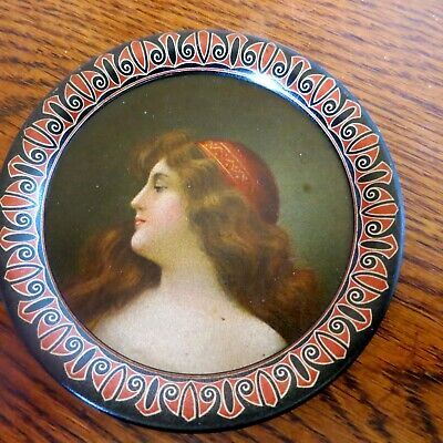 Vintage Tip Tray - Young Woman