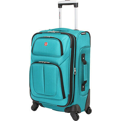 "SwissGear Travel Gear 6283 21"" Spinner Carry-On Luggage Softside Carry-On NEW"