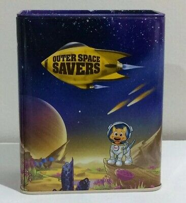 Commonwealth Bank Outer Space Savers Metal Money Box,Commonwealth Bank Money Box
