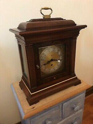 Howard miller Thomas Tompion mantle clock working please note mint condition