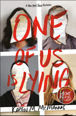 One Of Us Is Lying By Karen McManus E-B0K-E-MAILED [60s delivery]