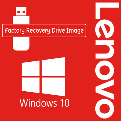 LENOVO Windows 10 Pro/Home Factory System Recovery Drive Image. Digital Download