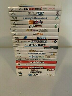 Nintendo Wii games - your choice