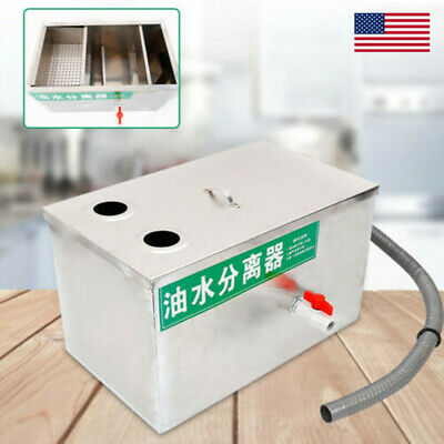 Stainless Steel Grease Trap Interceptor for Restaurant Kitchen Wastewater USA