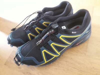 Salomon Speedcross 4 GTX Men Gore tex Shoes Trail Running Shoes Black 383181 UK 7 5