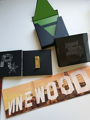 GTA V Grand Theft Auto 5 Soundtrack Collectors Edition