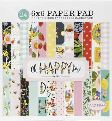 "Authentique Double-Sided Cardstock Pad 6/""X6/"" 24//Pkg Flawless 738944699256"